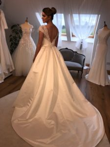 Dress by Thomas Heverin, Ourania Bridal