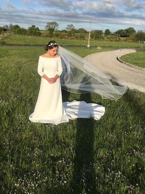 The limited edition 'Markle' dress by Thomas Heverin from Ourania Bridal